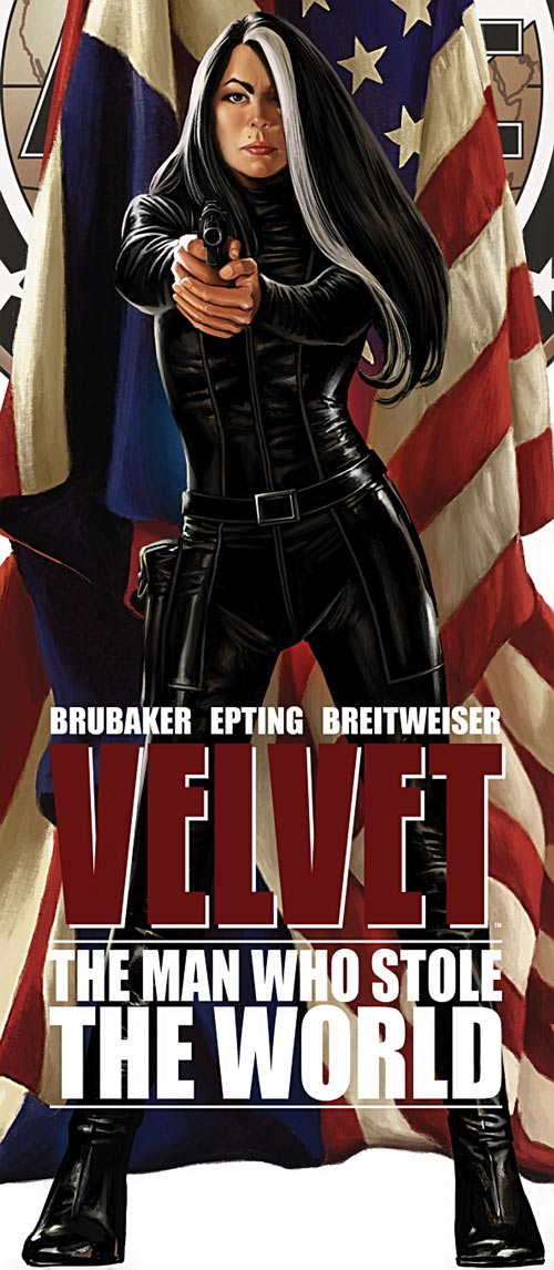 Velvet Templeton (Image Comics by Brubaker and Epting) man who stole the world