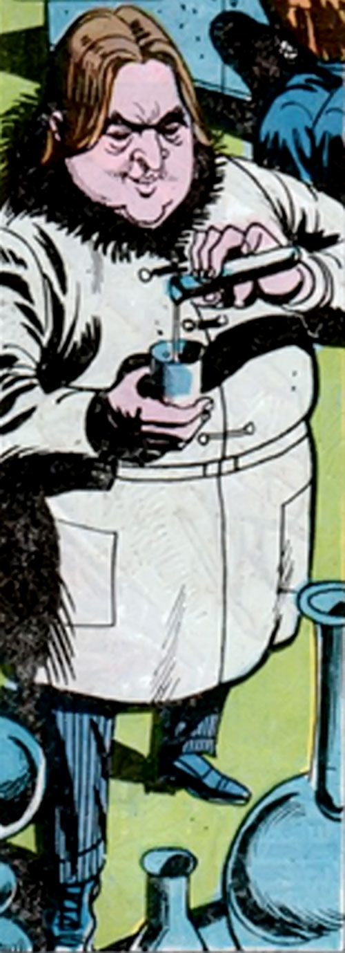 Viper of the League of Assassins (Richard Dragon enemy) (DC Comics)