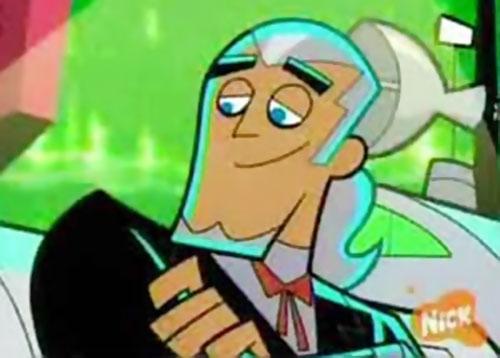 Vlad Plasmius (Danny Phantom enemy) human face closeup