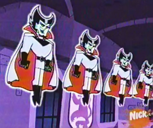 Vlad Plasmius (Danny Phantom enemy) multiple floating copies