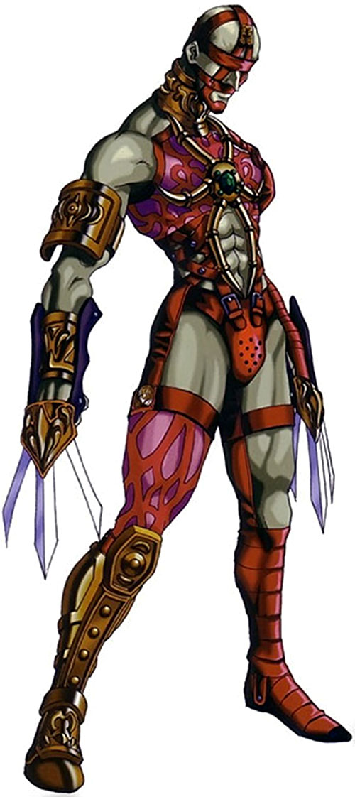 Voldo (Soul Calibur) in hot pink and red