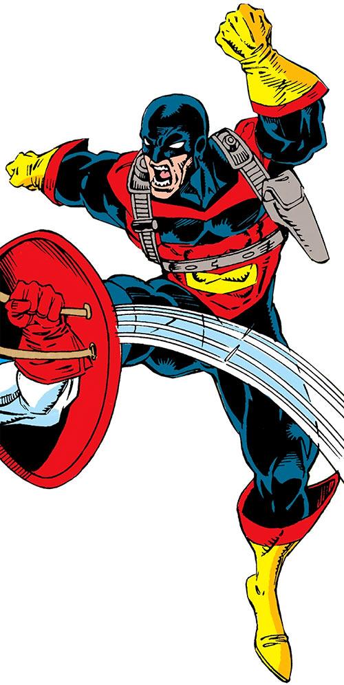Vormund (Marvel Comics) vs. Captain America