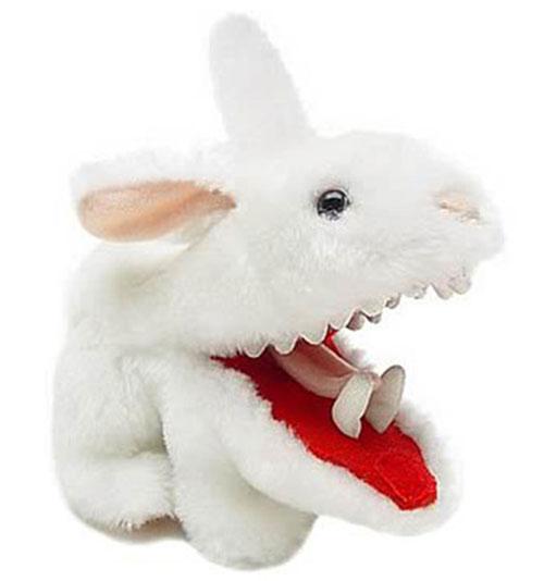 Plush vorpal bunny