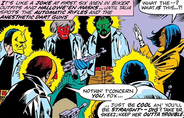 Vulcan's masked henchmen