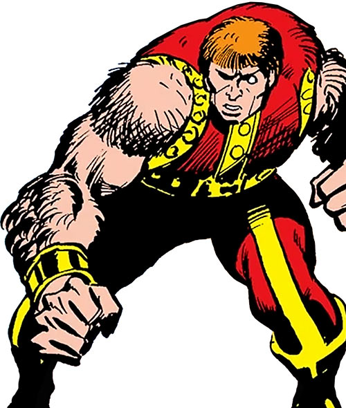 Vulcan (Black Goliath enemy) (Marvel Comics)