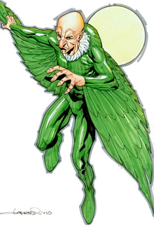 Vulture (Spider-Man enemy) (Marvel Comics) by Lopresti