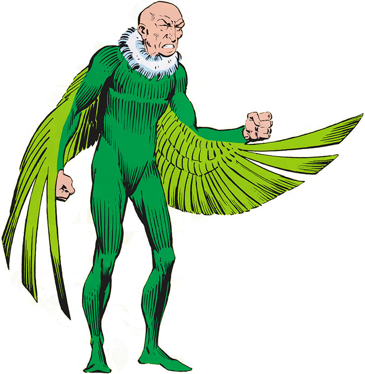 The Vulture (Adrian Toomes) from the OHOTMU