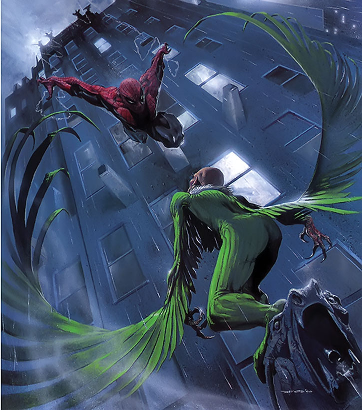 The Vulture (Adrian Toomes) vs. Spider-Man