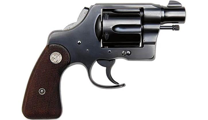 """Fitzed"" Colt revolver"
