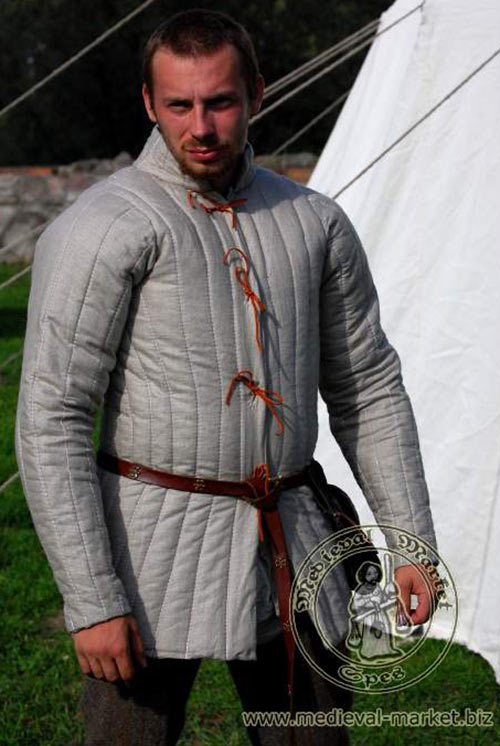 Light body armour - Quilted armour jack - Medieval Market