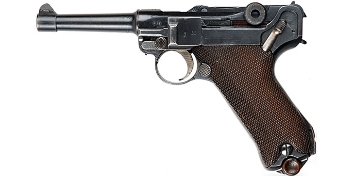 Luger P08 9mm from the 1910s