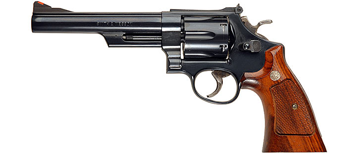 Smith & Wesson M29 revolver in .44 magnum