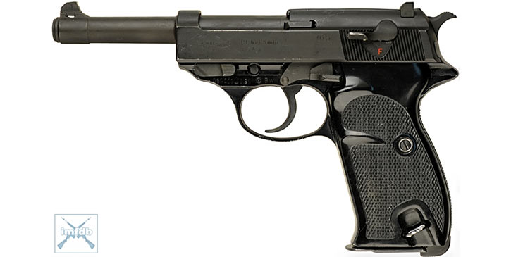 Walther 9mm P38 (well, a P1)