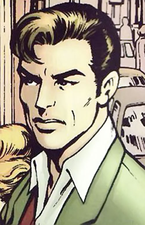 Wallop of Clan Destine (Marvel Comics) portrait in human form