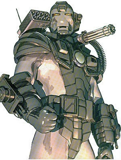 War Machine (James Rhodes) (Marvel Comics)