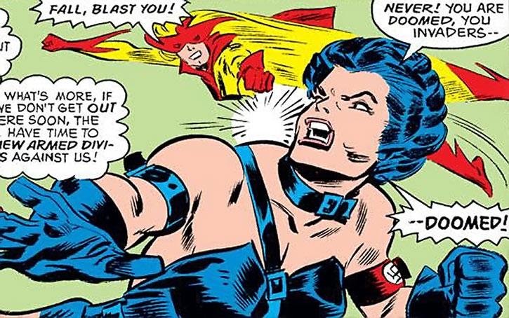 Warrior Woman (Julia Koenig) vs. Spitfire