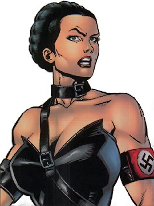 Warrior Woman (Captain America Invaders Nazi enemy) (Marvel Comics) portrait