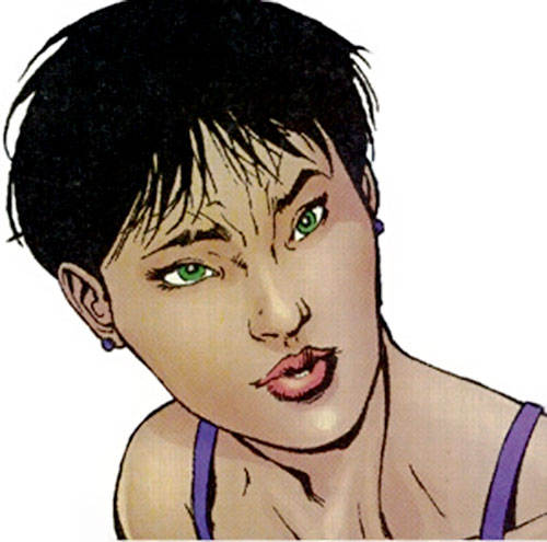 Ultimate Wasp (Marvel Comics) face closeup