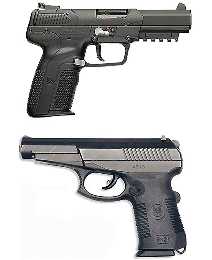 Armor-piercing pistol