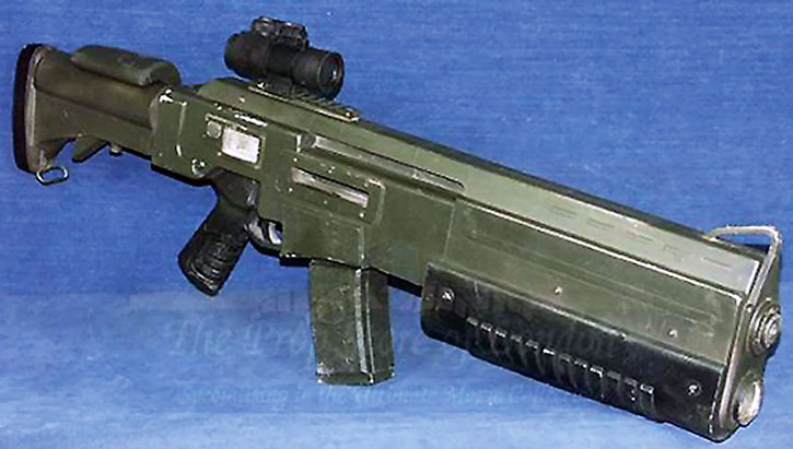 Assault rifle in the Doom movie
