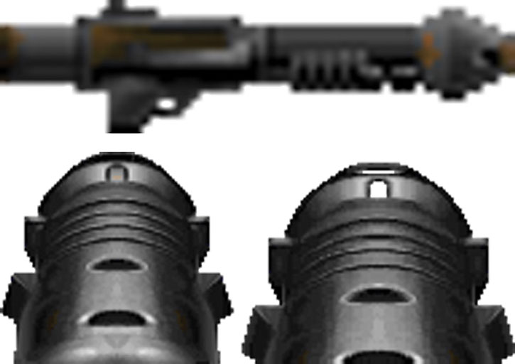 Doom rocket launcher