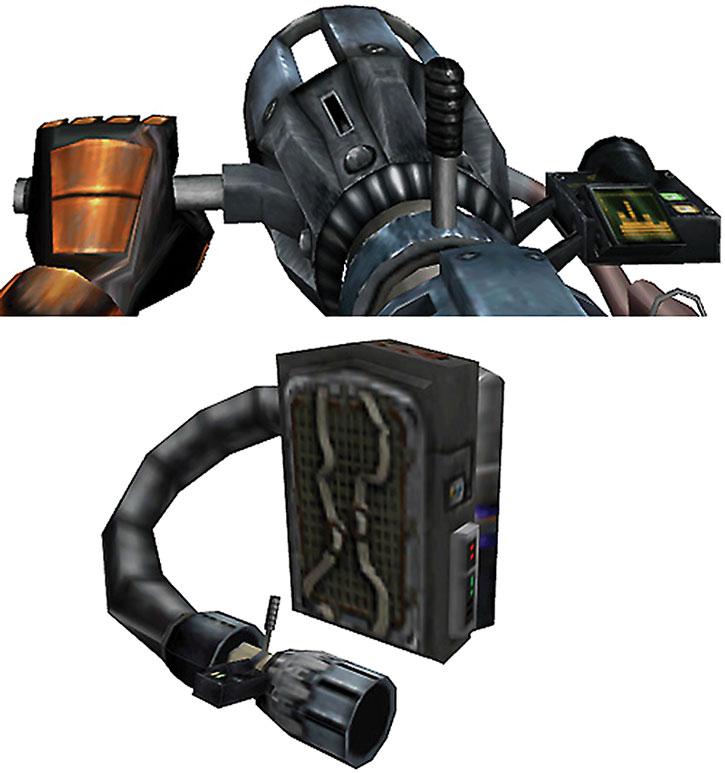 Half-Life gluon gun