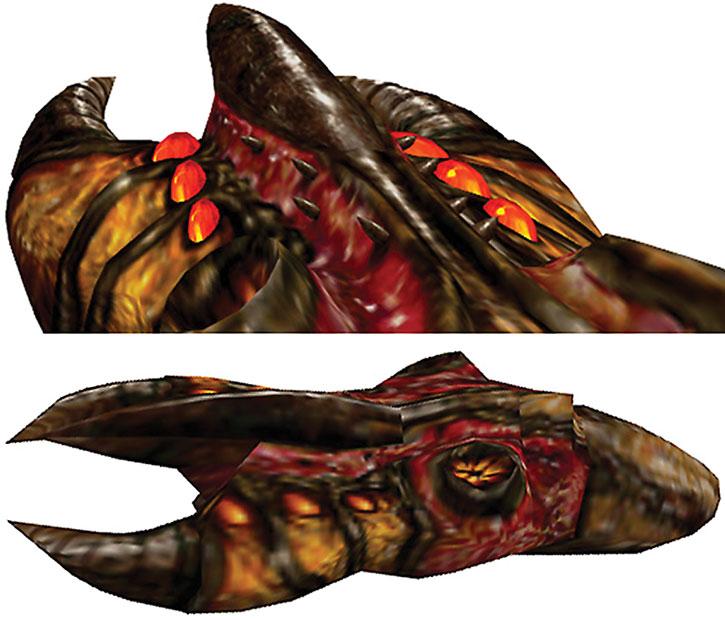 Half-Life hive hand weapon