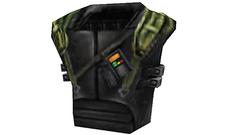 Armored vest in Half-Life