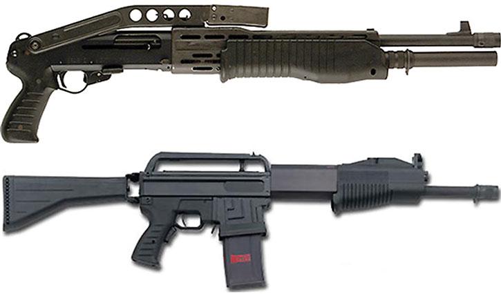 SPAS shotguns
