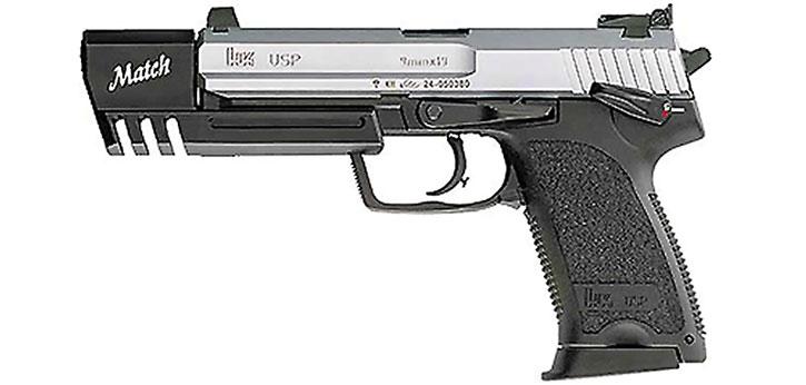 H&K USP match pistol