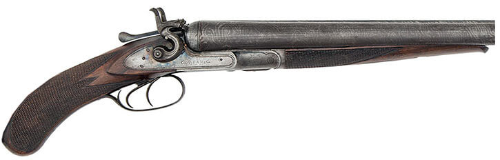 Wild West sawed off shotgun