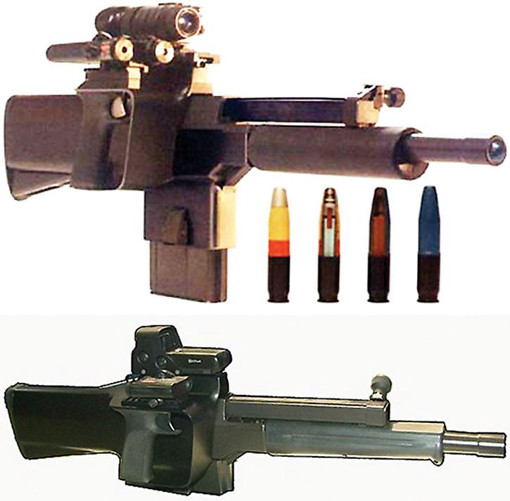 PAW20 grenade launcher
