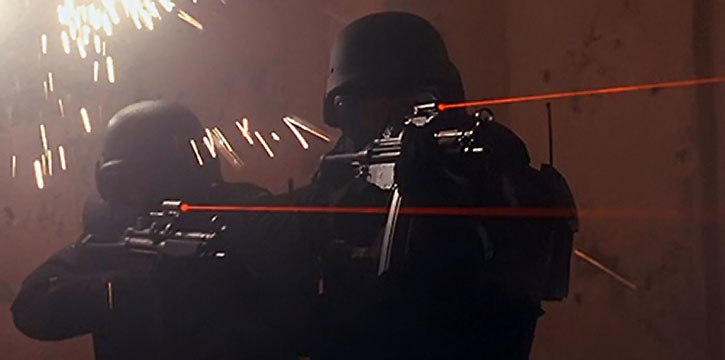 Hollywood laser sights