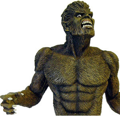 Werewolf by Night (Early) (Marvel Comics) sculpted bust