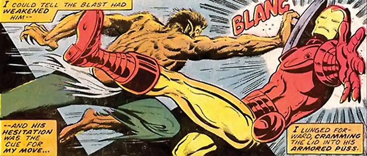 The Werewolf by Night vs. Iron Man