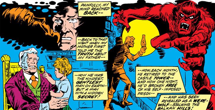 Werewolf by Night (Early) (Marvel Comics) recap banner 1