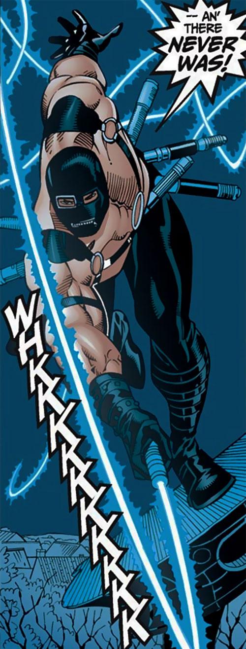 Whiplash (Late Scarlotti) (Iron Man enemy) (Marvel Comics)