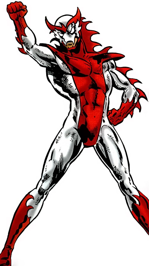 White Dragon (Spider-Man enemy), second costume