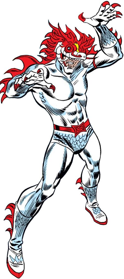 White Dragon (Spider-Man enemy) (Marvel Comics)