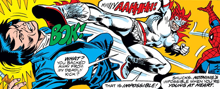 White Dragon vs. Spider-Man