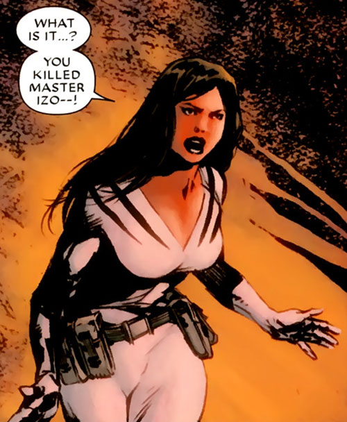 White Tiger (Angela del Toro) (Marvel Comics) without her mask