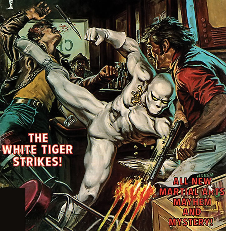 White Tiger (Hector Ayala) cool cover art