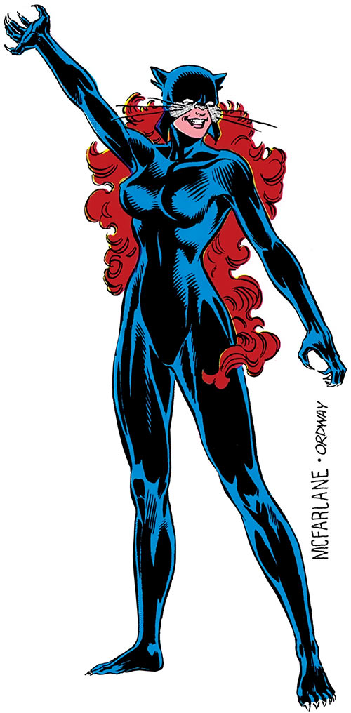 Wildcat of Infinity, Inc. (Yolanda Montez) (DC Comics)