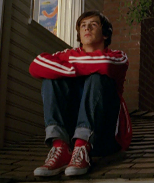 Will Stronghold (Michael Angarano in Sky High) sitting on a roof