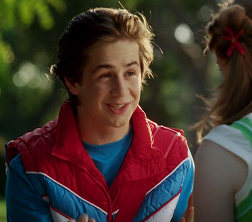 Will Stronghold (Michael Angarano in Sky High) goofy smile