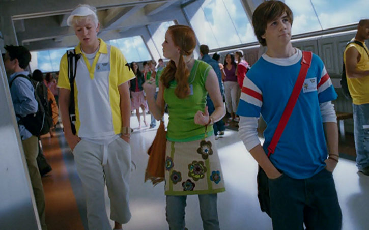 Will Stronghold (Michael Angarano) in a school hall