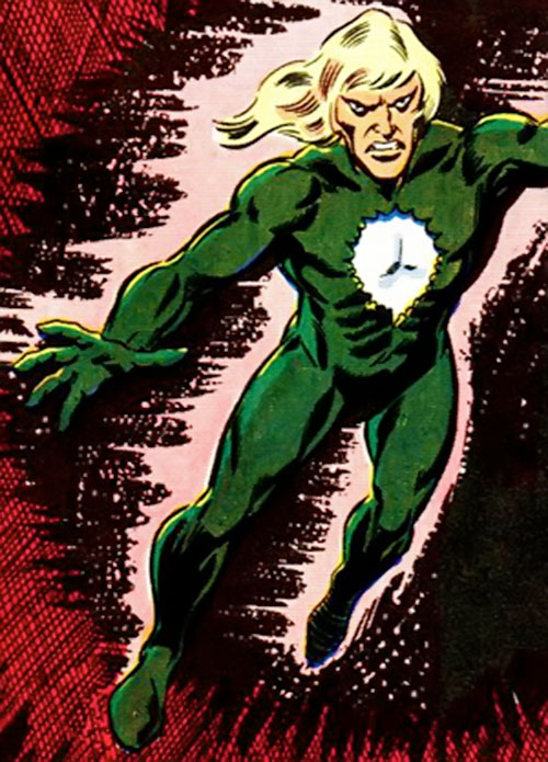 Will o' the wisp (Marvel Comics) in the night