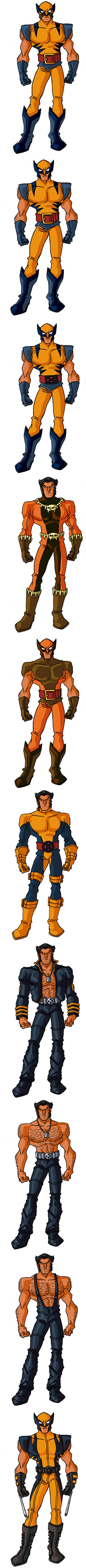 Wolverine (Marvel Comics) costumes gallery with RonnieThunderbolts