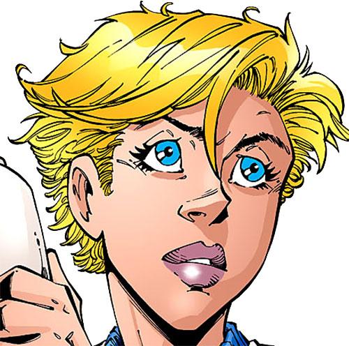 Wonder Girl (Cassie Sandsmark) face closeup