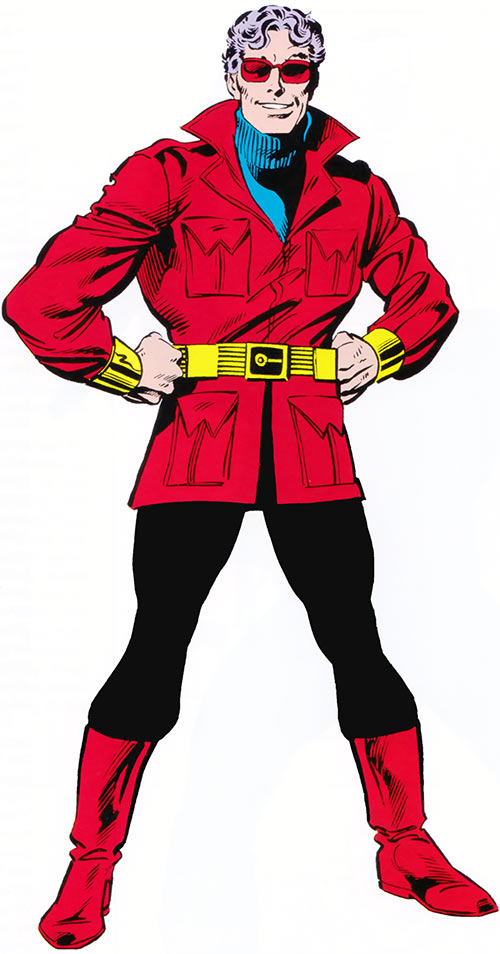 Wonder Man (Marvel Comics) (Avengers) with the red vest and boots